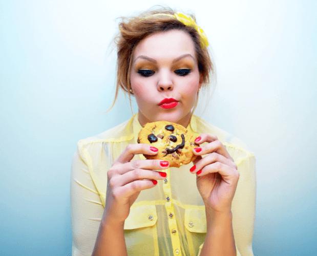クッキーが食べられない