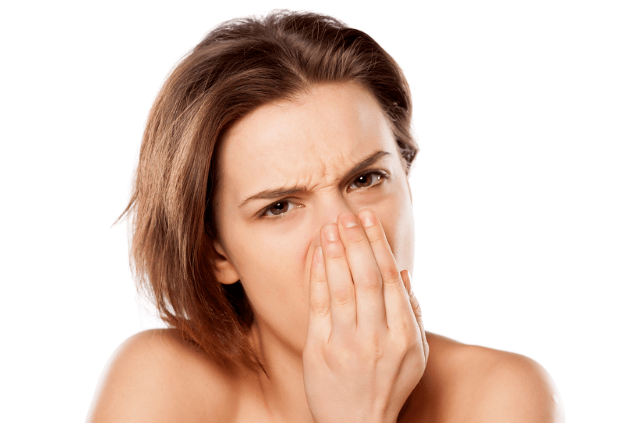 舌苔が臭いと困っている女性