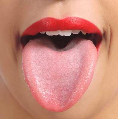 正常な舌の色