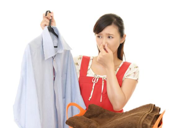 加齢臭が臭い洗濯物